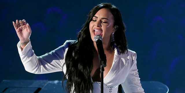 Watch Demi Lovato's Emotional Grammys Performance of 'Anyone'