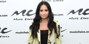 Demi Lovato Visits Music Choice
