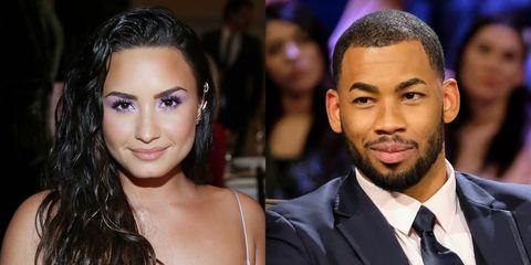 Demi Lovato and Mike Johnson