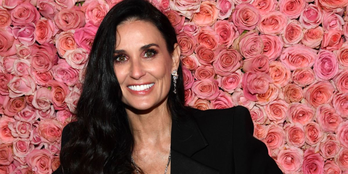 Demi Moore, 56, Poses Nude on the Cover of Harpers Bazaar