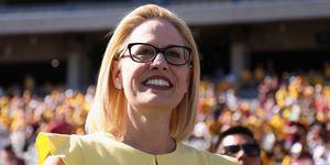 Arizona Senate Candidates Attend Arizona State Football Game