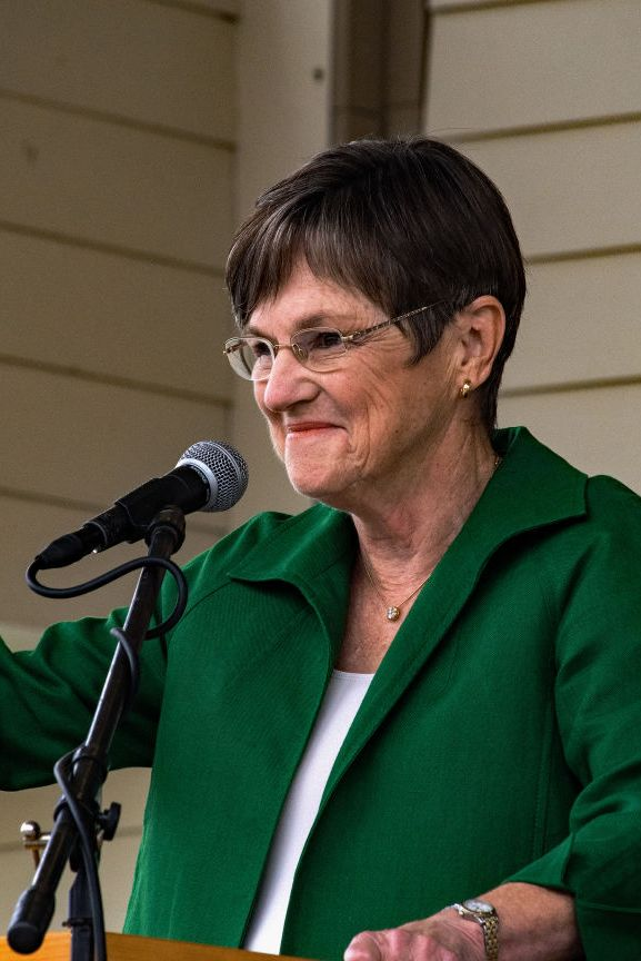 Laura Kelly At the Kansas Gubernatorial Candidates Debate