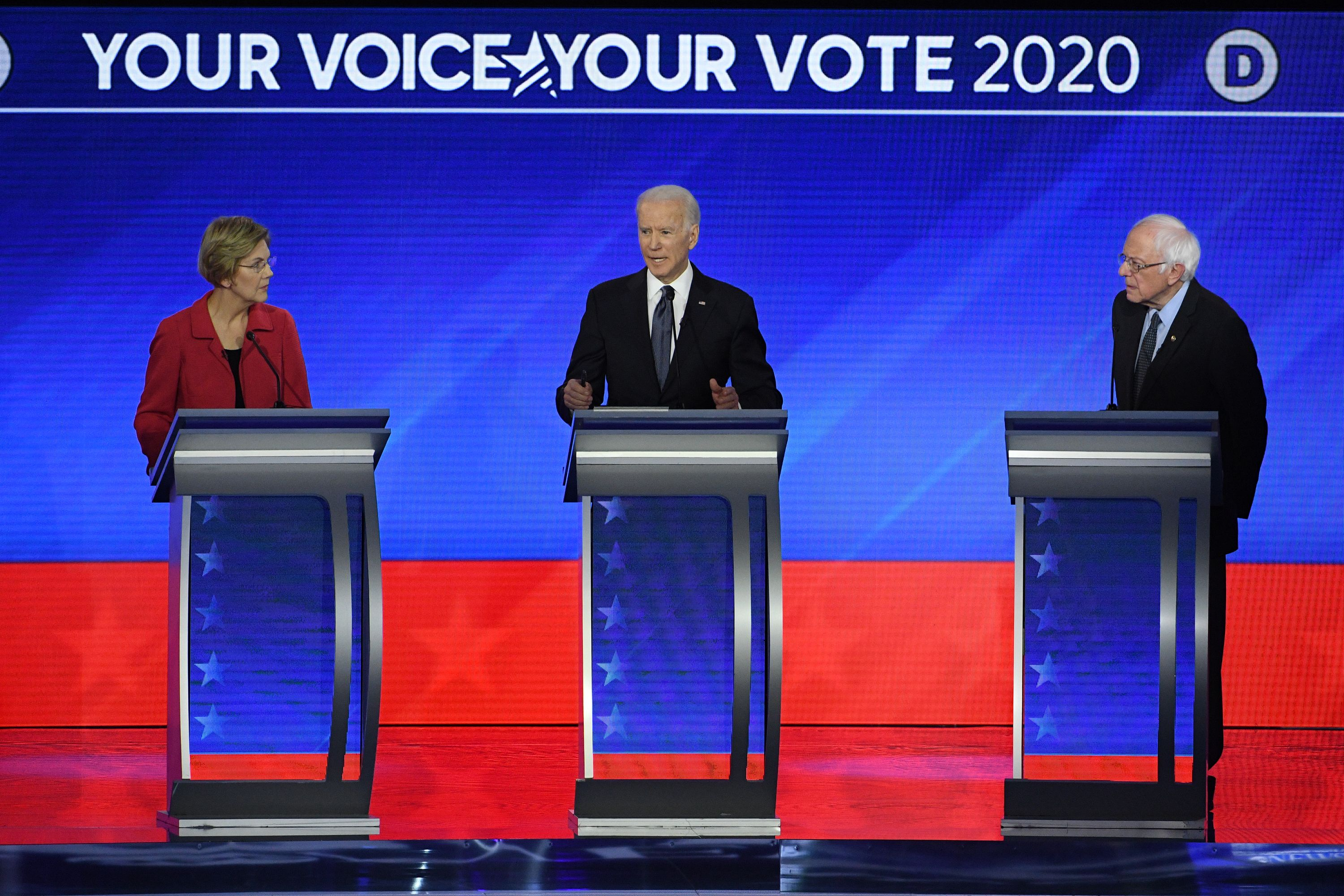 Here Are All The Best Social Media Reactions to the Eighth Democratic Debate