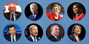 democratic debate candidates