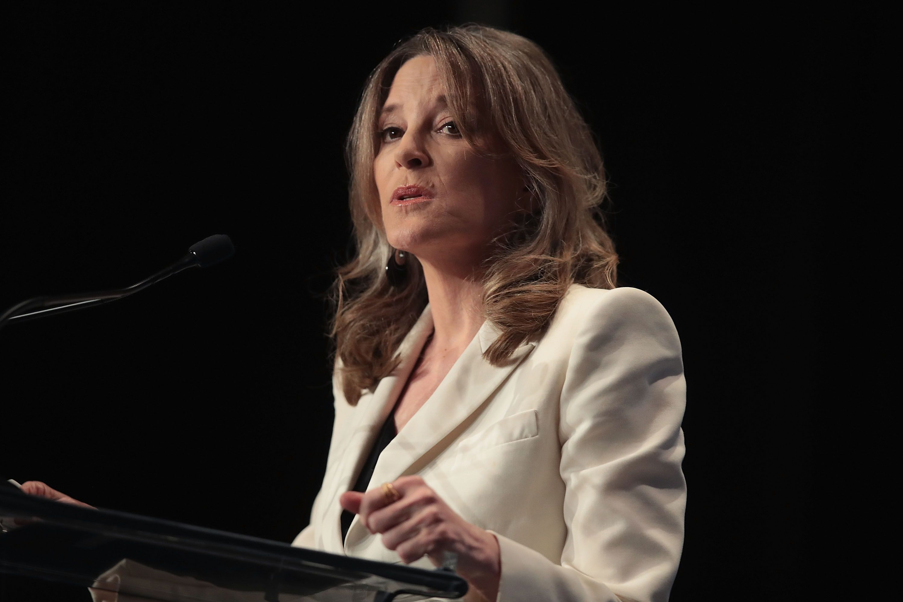 Why Marianne Williamson Wasn't at the October Debate