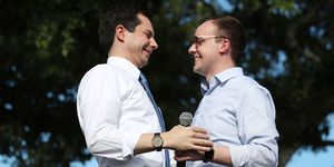 Presidential Candidate Pete Buttigieg Holds Grassroots Fundraiser In Miami