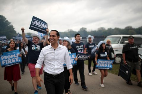 Presidential Candidates Attend Polk County Democrats' Steak Fry In Des Moines