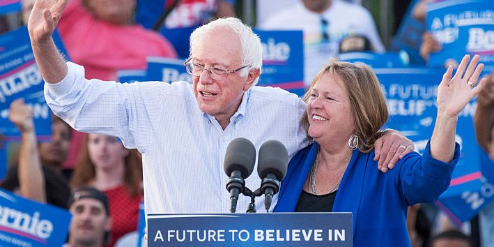 Jane O'Meara Sanders, Bernie Sanders's Wife, Has Been By His Side for His Whole Political Career