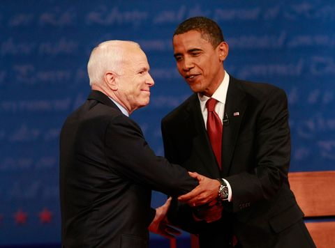 McCain And Obama Square Off In First Presidential Debate