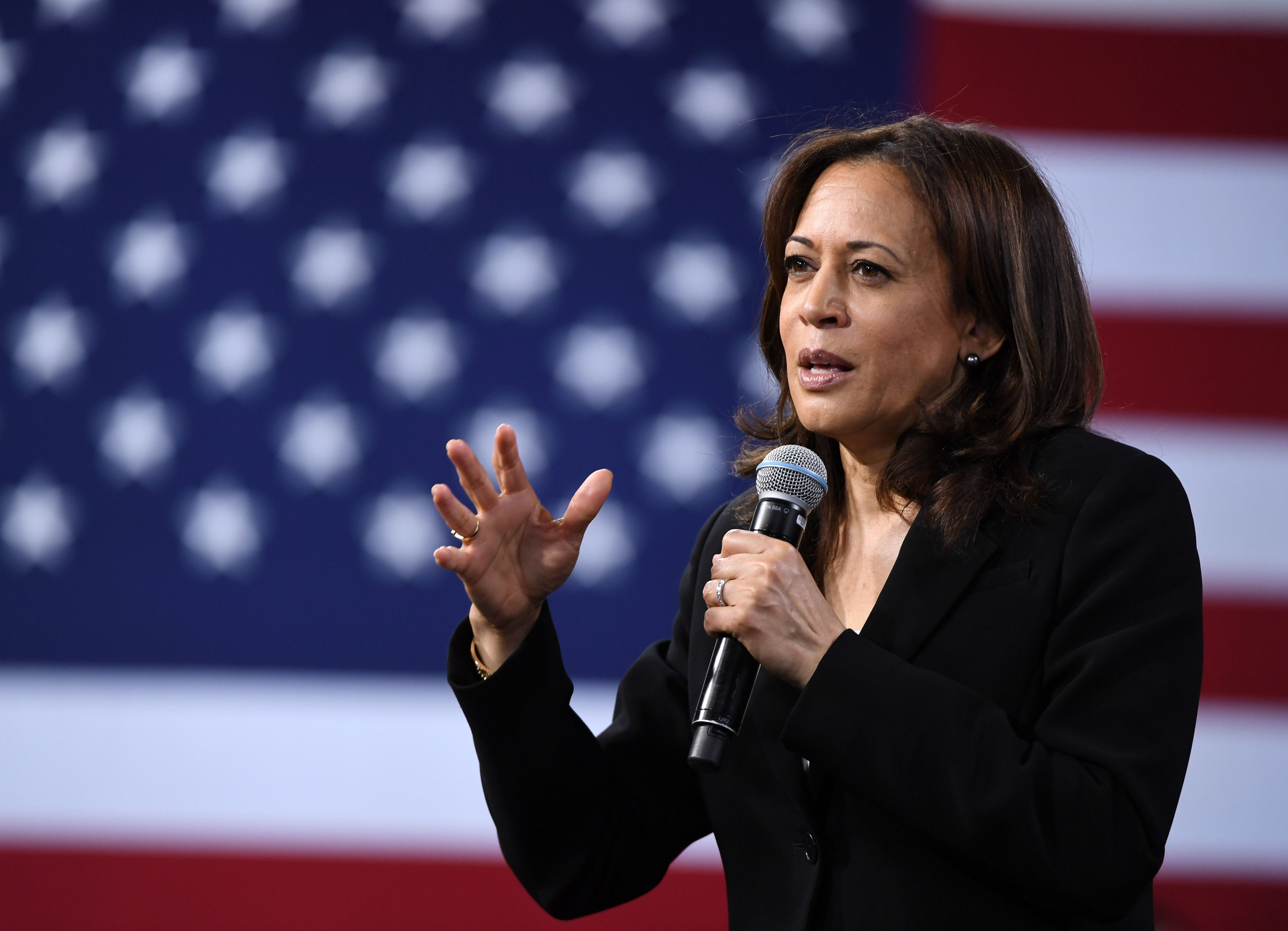 Black Moms Are Dying at Staggering Rates In America. Kamala Harris Says It's Time to Address the Crisis.