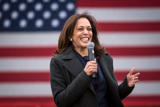 democratic vice presidential nominee kamala harris campaigns in detroit