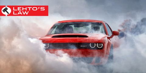 Here S What That Dodge Demon Buyer S Agreement Actually Means