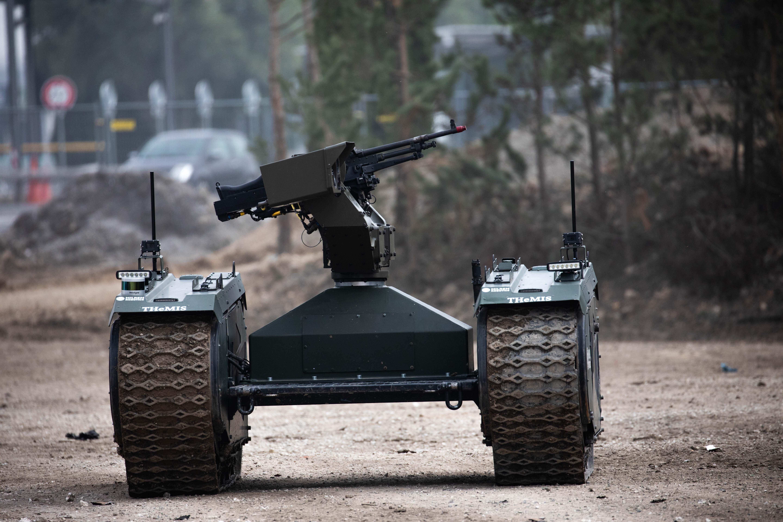 military robots 2019