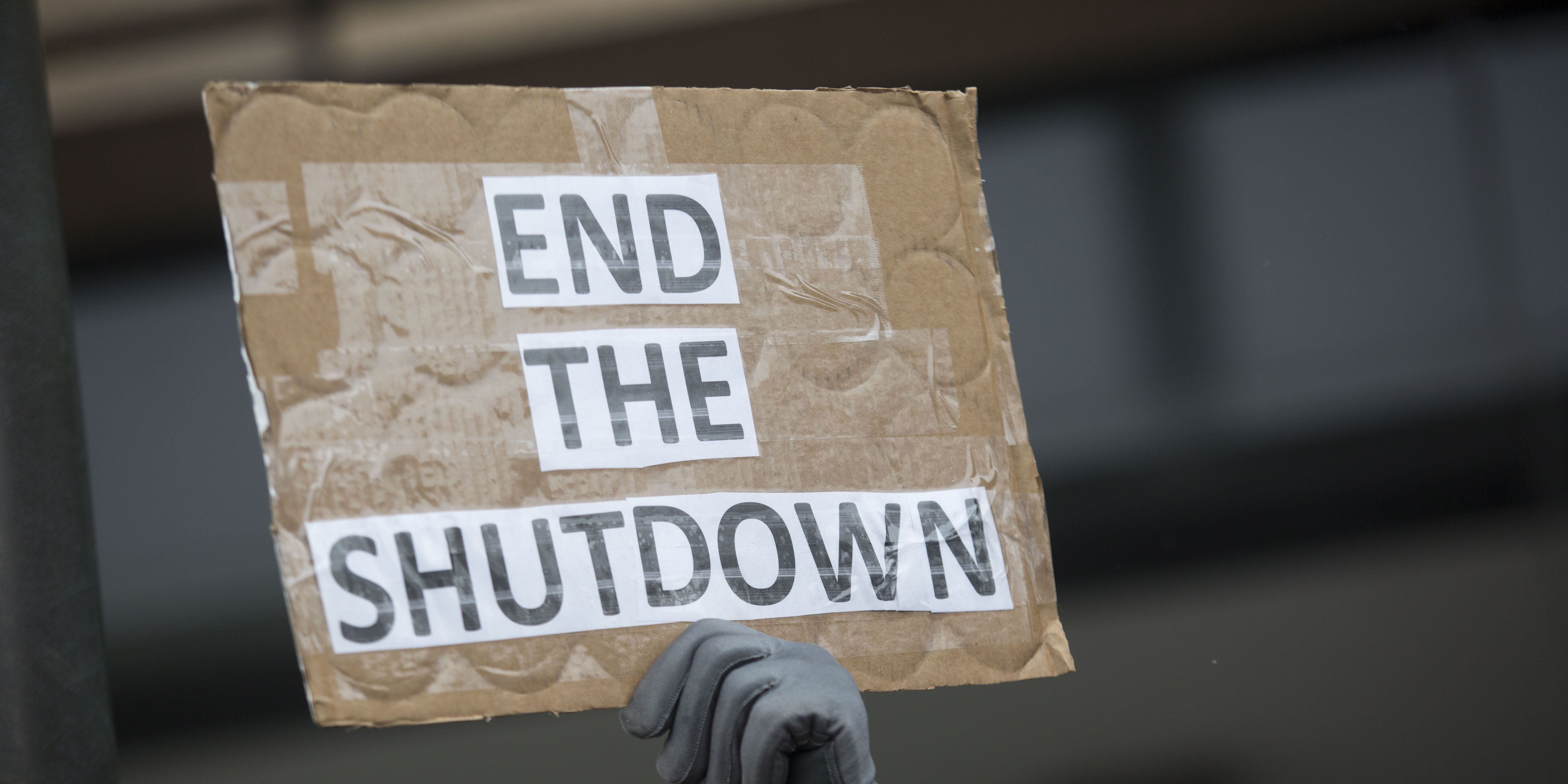 IRS Workers Hold Rally Protesting The Government Shutdown As Many Continue To Work Without Pay