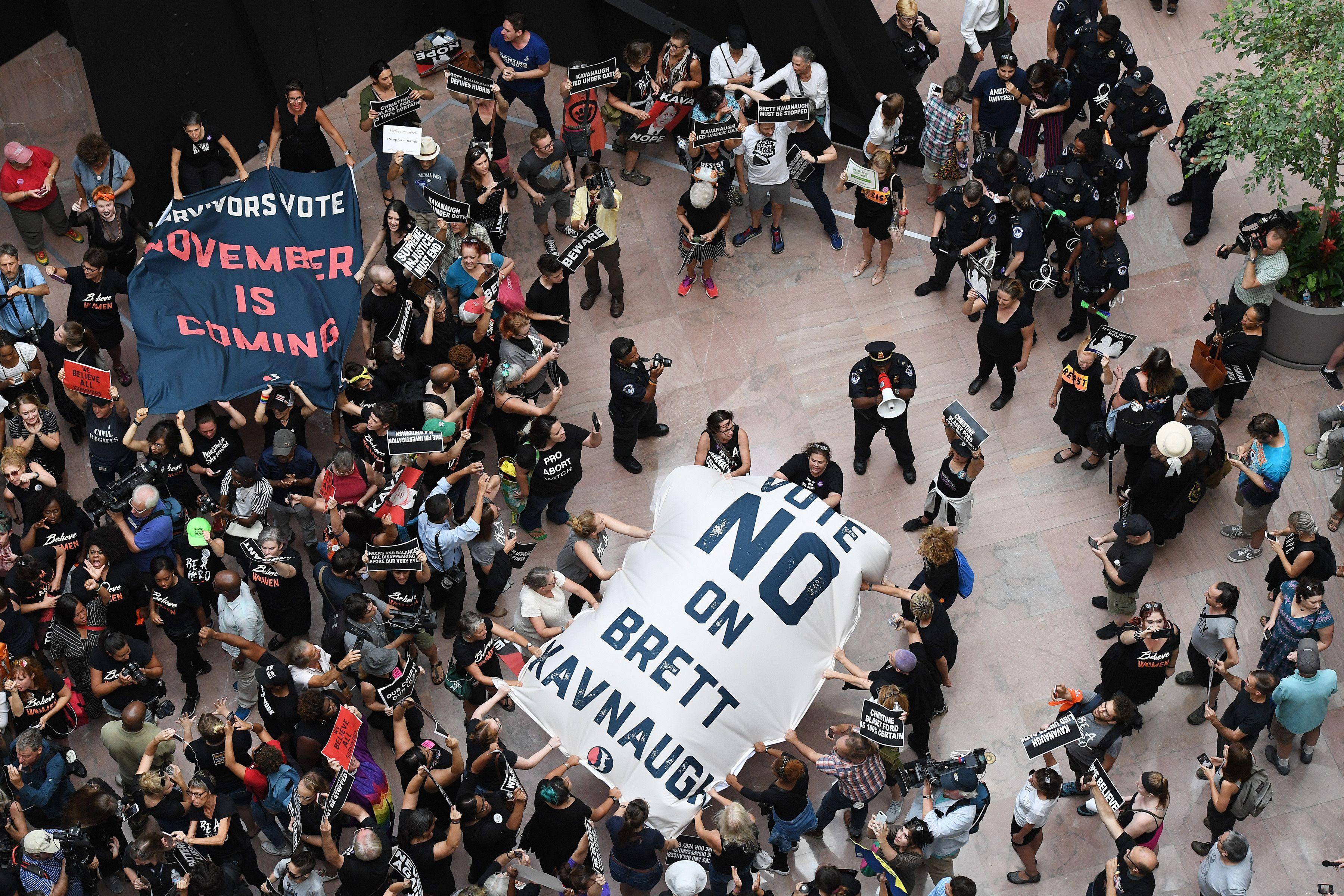 Rally Opposing Brett Kavanaugh - Washinton, DC