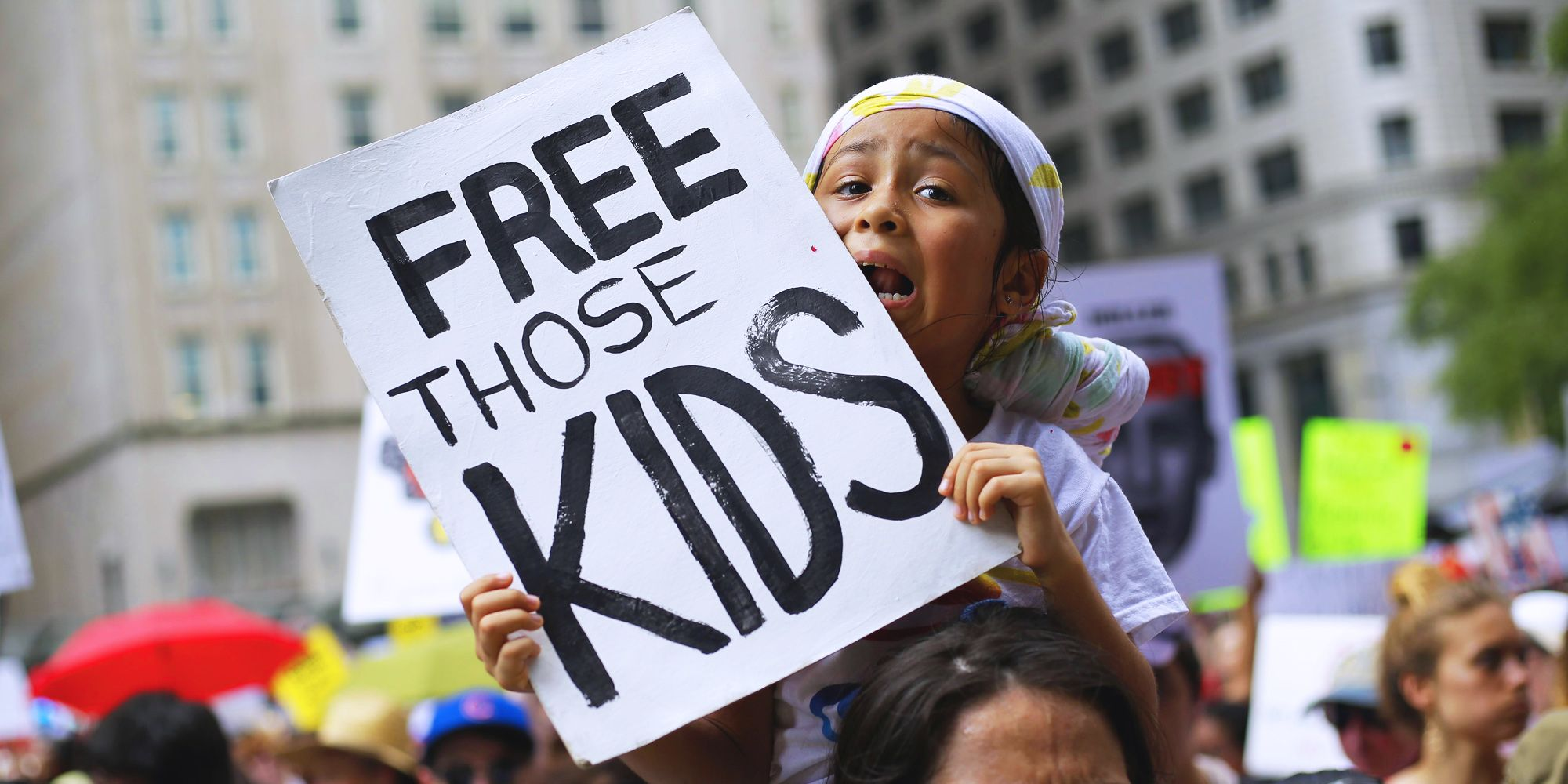 keeping immigrant families together march
