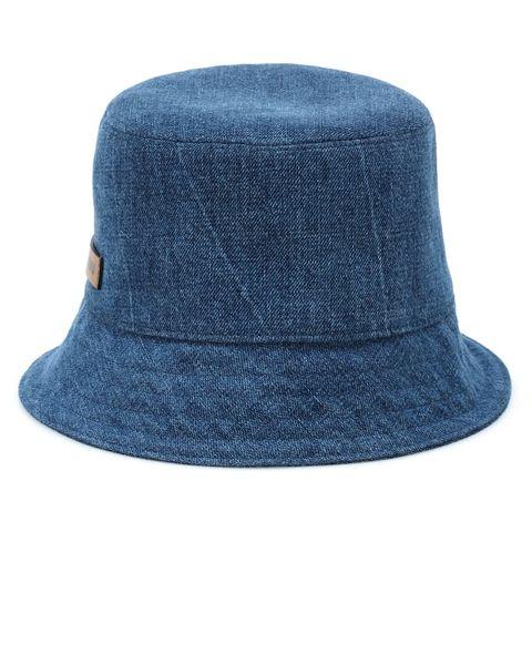 Clothing, Blue, Hat, Fashion accessory, Denim, Azure, Turquoise, Headgear, Sun hat, Fedora,