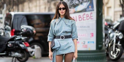 Clothing, Street fashion, Photograph, Fashion, Footwear, Snapshot, Beauty, Shorts, Waist, Denim,