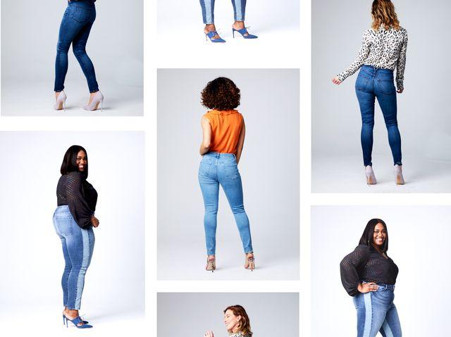 Booty jeans big Big girl