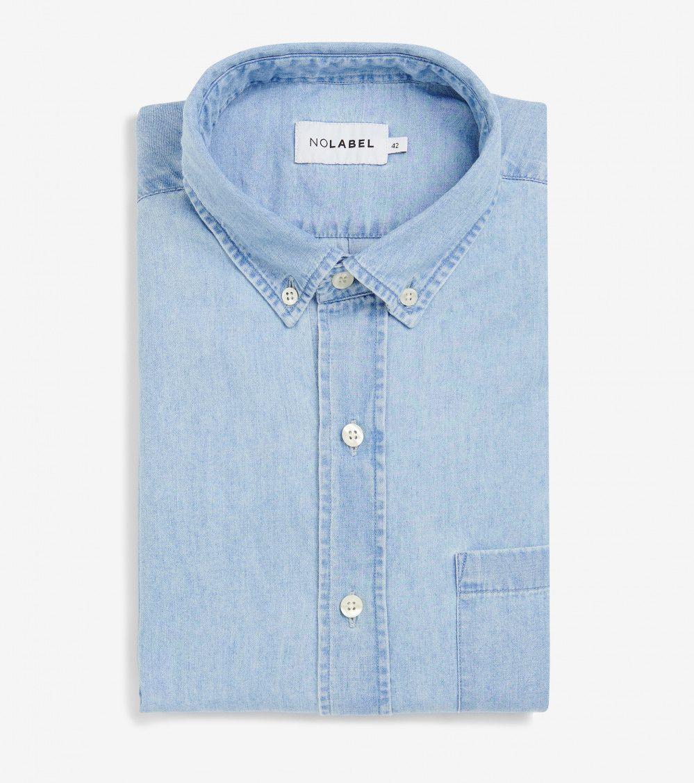 denim-overhemd