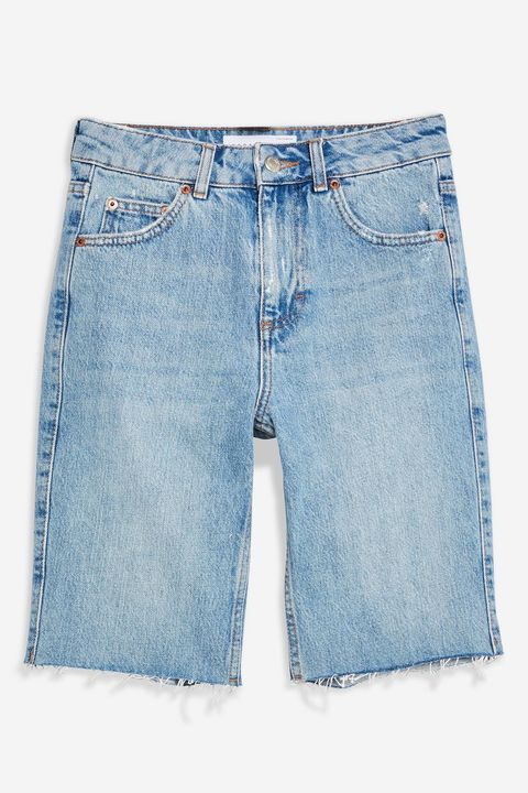 Bermuda shorts, denim topshop shorts