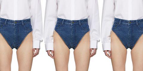 Clothing, Denim, Shorts, Thigh, Waist, Jeans, Leg, Outerwear, Fashion, Textile,