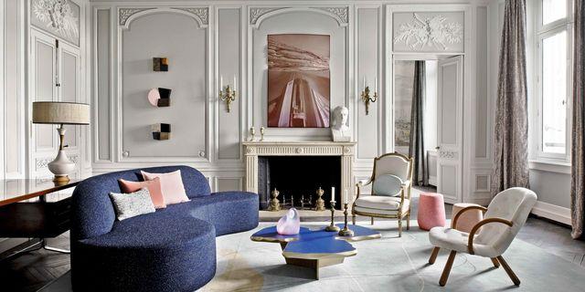 Designer Jean-Louis Deniot Reimagines an 18th-Century Apartment as a Modernist Haven on Paris's Illustrious Rue de Rivoli