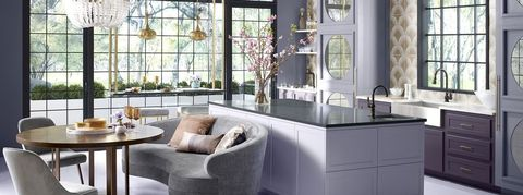 18 Best Purple Rooms - Lavender, Lilac and Violet Decorating ... Lavender And Gray Bedroom Decorating Ideas on yellow and gray room ideas, bedroom paint ideas, lavender and pink background, espresso and gray bedroom ideas, navy blue and gray bedroom ideas, gray living room color ideas, purple and grey bathroom ideas, purple bedroom color ideas, black and gray bedroom ideas, lavender and silver, lavender and blonde highlights, rose and gray bedroom ideas, lavender bedroom walls, lavender black and white bedroom, lavender and grey, lavender and aqua bedroom, purple and brown bedroom ideas, purple and silver bedroom ideas, white and purple bedroom ideas,