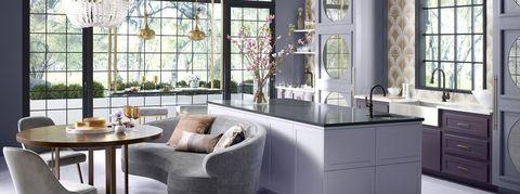 denise mcgaha purple kitchen