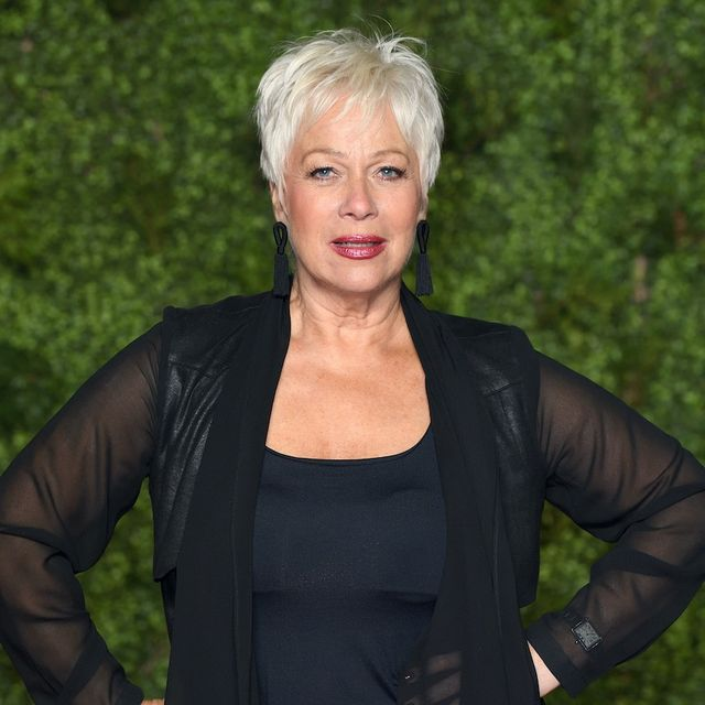 """denise welch attends """"the crown"""" season 3 world premiere at the curzon mayfair on november 13, 2019 in london, england"""