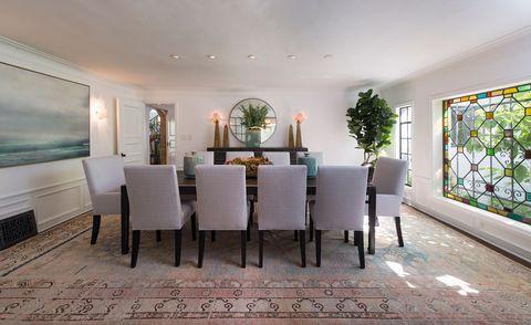 dennis quaid dining room
