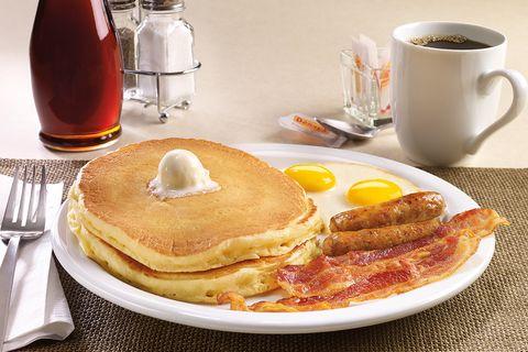 Dish, Food, Breakfast, Meal, Pancake, Cuisine, Ingredient, Pannekoek, Brunch, Maple syrup,