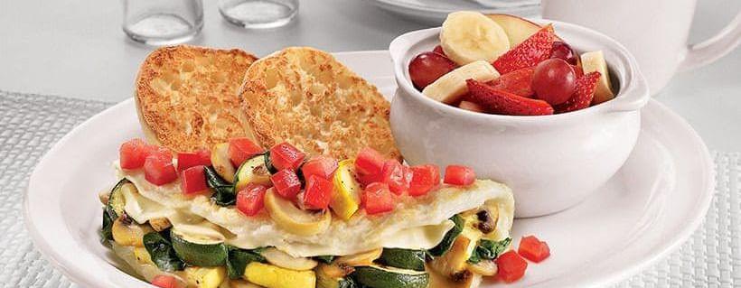 denny's loaded veggie omelet
