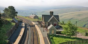 Dent Station - railway - view - Cumbria