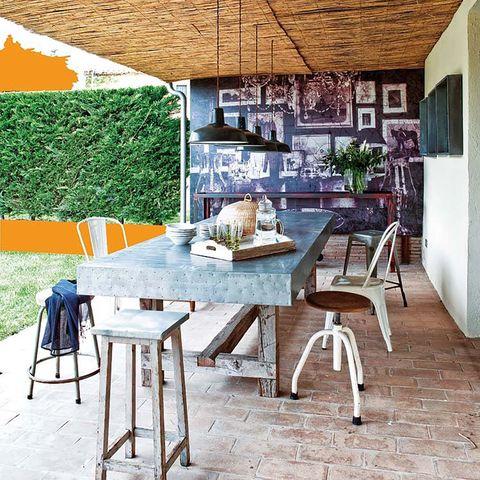 muebles e ideas de exterior   patio