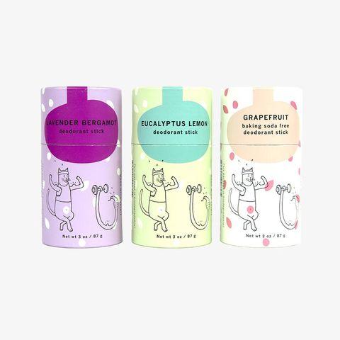Meow Meow Tweet, Deodorant, Green, Eco