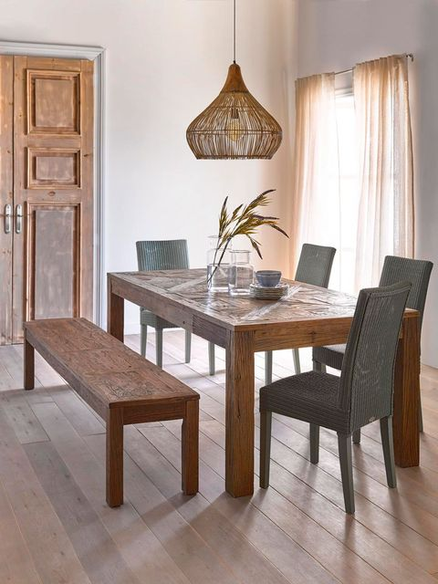 Furniture, Room, Dining room, Table, Kitchen & dining room table, Property, Interior design, Floor, Chair, Coffee table,