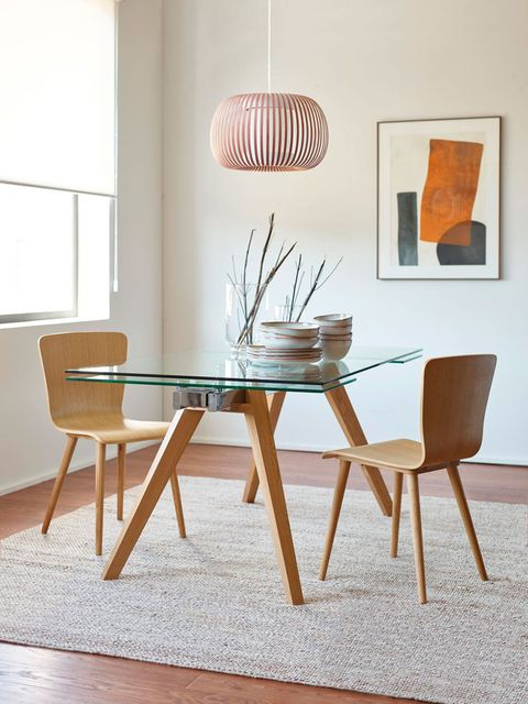 Furniture, Table, Chair, Room, Interior design, Coffee table, Dining room, Windsor chair, Design, Wood,