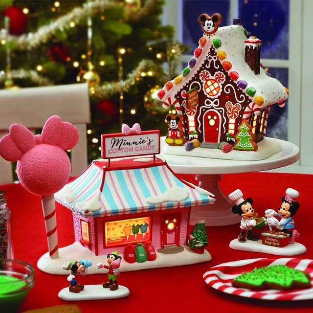 department 56 disney mickey's christmas village