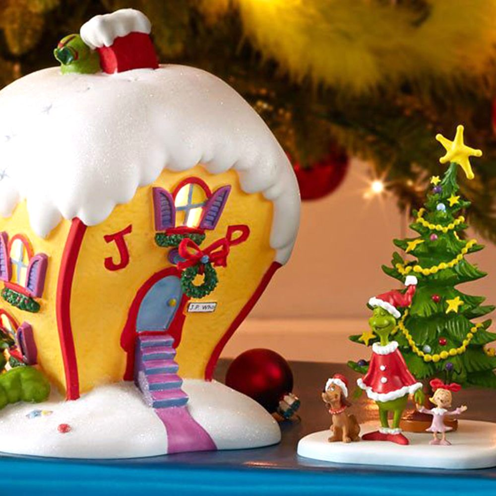 This Grinch Christmas Village Will Let You Build Your Very Own Whoville