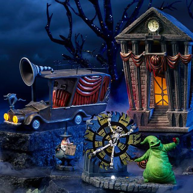 department 56 the nightmare before christmas village