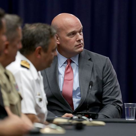 Attorney General Jeff Session Hosts Roundtable With Joint Interagency Task Force In D.C.