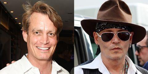 Matthew Mellon and Johnny Depp