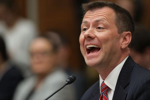 Former FBI Counterintelligence Division Deputy Assistant Director Peter Strzok Testifies At House Hearing On 2016 Election