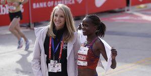 Paula Radcliff marathon wereldrecord