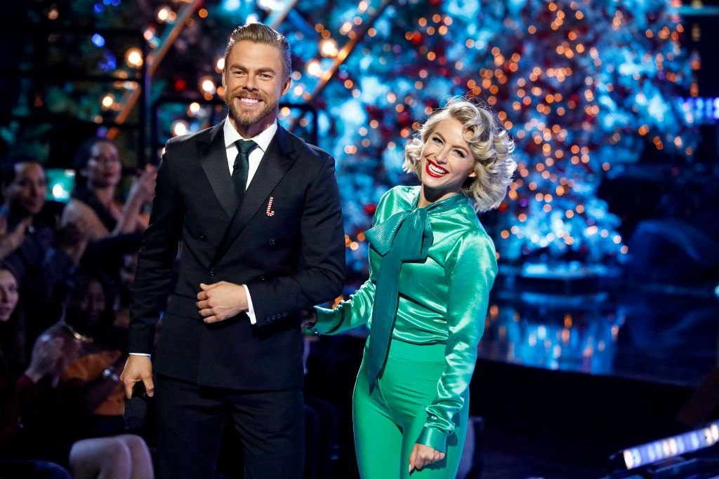 Derek Hough Injured While Taping His Special Holidays With