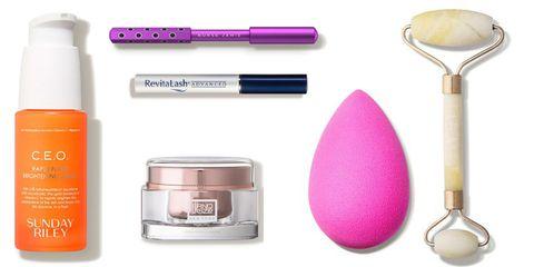 Eye shadow, Violet, Product, Purple, Beauty, Skin, Eye, Cosmetics, Material property,