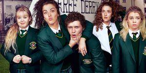 Derry Girls Cast Netflix