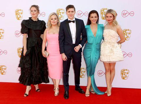 derry girls cast, bafta awards 2019