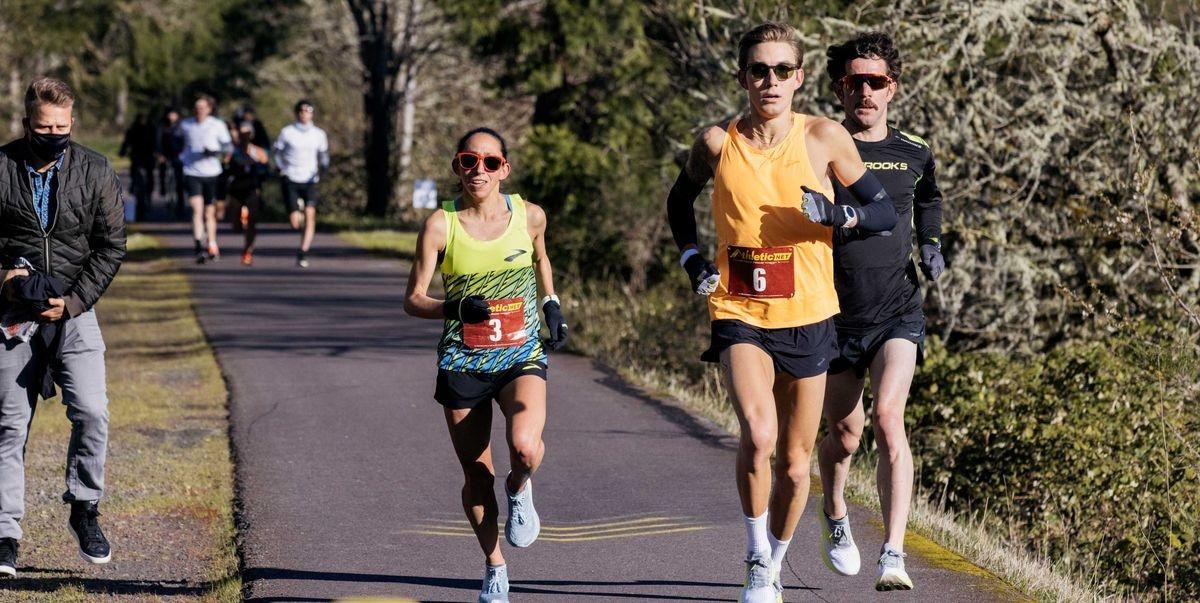 What's It Like to Run Ahead of Des Linden for 50K? We Have Questions